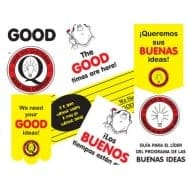 Good Idea Program Materials - 1st Location (per employee)